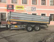 BIG Trailer 13 t Tandem 3 Seitenkipper TDS 13
